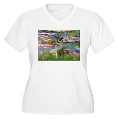 Lilies / Nor Elkhound T-Shirt