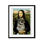 Mona / Nor Elkhound Framed Panel Print