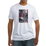 Little Red Riding Hood Fitted T-Shirt