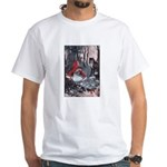 Little Red Riding Hood White T-Shirt