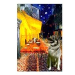 Cafe / Nor Elkhound Postcards (Package of 8)