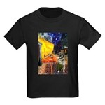 Cafe / Nor Elkhound Kids Dark T-Shirt