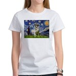 Starry / Nor Elkhound Women's T-Shirt