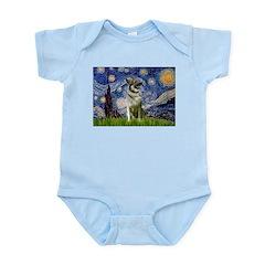 Starry / Nor Elkhound Infant Bodysuit
