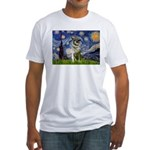 Starry / Nor Elkhound Fitted T-Shirt