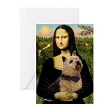 Mona / Norwich Terrier Greeting Cards (Pk of 10)