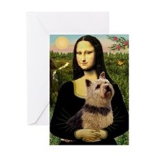 Mona / Norwich Terrier Greeting Card