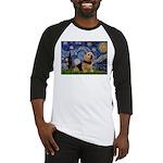 Starry /Norwich Terrier Baseball Jersey