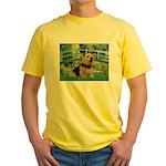 Bridge / Norwich Terrier Yellow T-Shirt