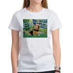 Bridge / Norwich Terrier Women's T-Shirt