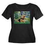 Bridge / Norwich Terrier Women's Plus Size Scoop N