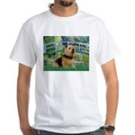Bridge / Norwich Terrier White T-Shirt