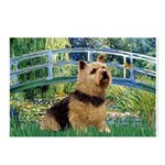 Bridge / Norwich Terrier Postcards (Package of 8)
