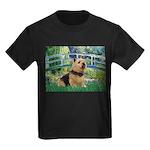 Bridge / Norwich Terrier Kids Dark T-Shirt
