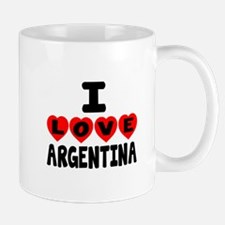 I Love Argentina Mug