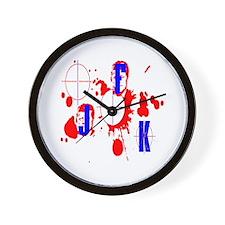 JFK assassination Wall Clock