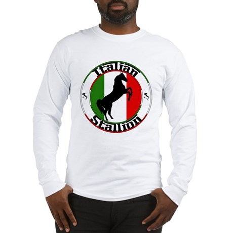 Classic Italian Stallion Long Sleeve T-Shirt