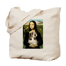 Mona Lisa / PBGV Tote Bag