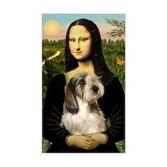 Mona Lisa / PBGV Decal
