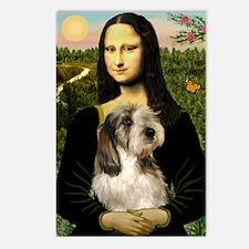 Mona Lisa / PBGV Postcards (Package of 8)