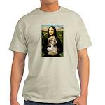 Mona Lisa / PBGV Light T-Shirt