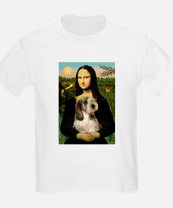 Mona Lisa / PBGV T-Shirt