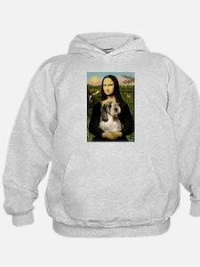 Mona Lisa / PBGV Hoodie