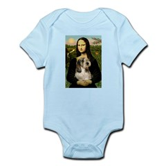 Mona Lisa / PBGV Infant Bodysuit