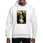 Mona Lisa / PBGV Hooded Sweatshirt