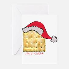 santa cracka Greeting Cards (Pk of 10)