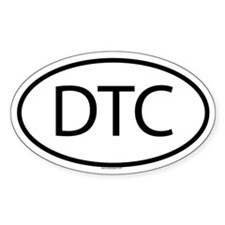 DTC Oval Decal