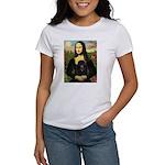 Mona / Poodle (bl) Women's T-Shirt