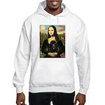 Mona / Poodle (bl) Hooded Sweatshirt