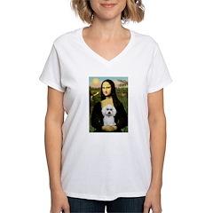 Mona Lisa / Poodle(w) Shirt