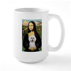 Mona Lisa / Poodle(w) Mug