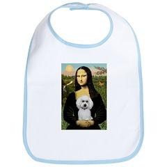 Mona Lisa / Poodle(w) Bib