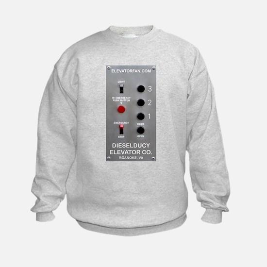 DieselDucy Elevator Button Sweatshirt