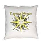 Christian Miracle Everyday Pillow