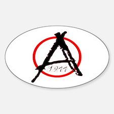 Punk Anarchy 1977 Decal