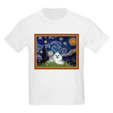 Starry Night / Poodle(w) T-Shirt