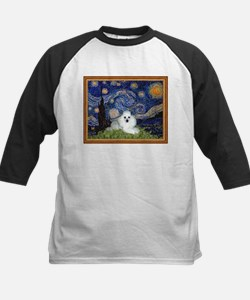 Starry Night / Poodle(w) Tee