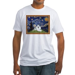 Starry Night / Poodle(w) Shirt