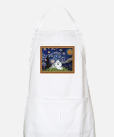 Starry Night / Poodle(w) Apron