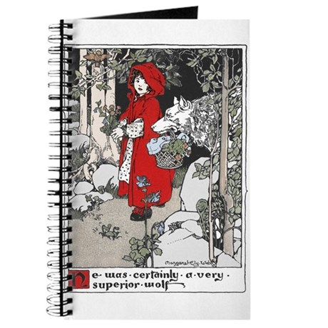 Webb's Little Red Riding Hood Journal