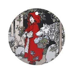 Webb's Little Red Riding Hood Ornament (Round)