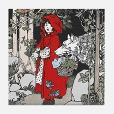 Webb's Little Red Riding Hood Tile Coaster