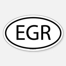 EGR Oval Decal