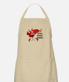 Crab Fishing Dutch Harbor Ala BBQ Apron