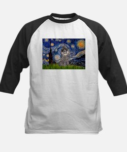 Starry Night / Poodle (s) Tee