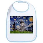 Starry Night / Poodle (s) Bib